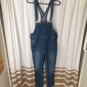 Urban Outfitters Low Bib Overalls